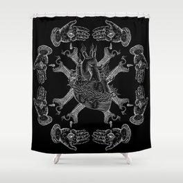 Mala Vida Shower Curtain