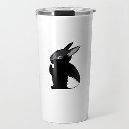 Black Bunny Travel Mug