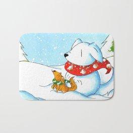 Snowtriever Bath Mat