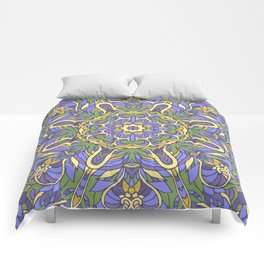 Mandala (Iris) Comforters
