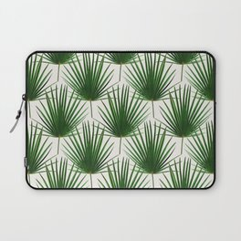 Simple Palm Leaf Geometry Laptop Sleeve