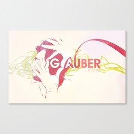 Glauber Rocha Canvas Print