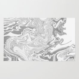 Gray Marble paper Rug