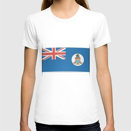 Flag of Cayman Islands. Flag of Cayman Islands. T-shirt