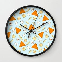 Cheesy Bites Wall Clock