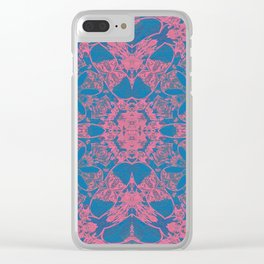 Boujee Boho Sweet Lace Clear iPhone Case