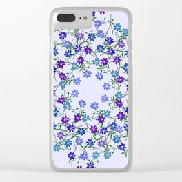 Cool summer breeze Clear iPhone Case