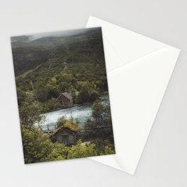 Cabins Stationery Cards