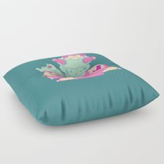 Slow Your Role Floor Pillow