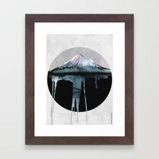The Island | by Dylan Silva & Georgiana Paraschiv Framed Art Print