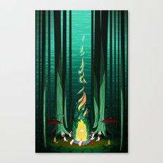 Summer Celebration Canvas Print