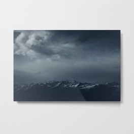 Full of snow Metal Print