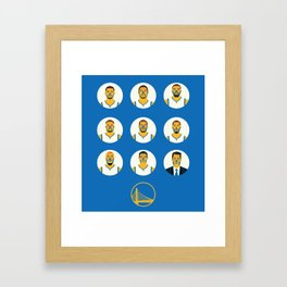 The Contenders - GSW Framed Art Print