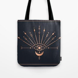 The Peacock Eye Tote Bag