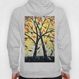 Abstract Art Landscape Original Painting ... New Day Dawning Hoody