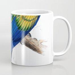 Edward Lear - Ara macao - Digital Remastered Edition Coffee Mug