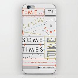 Haikuglyphics - Thyme iPhone Skin