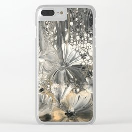 Night Blooms Clear iPhone Case