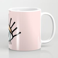 eye illustration print Mug