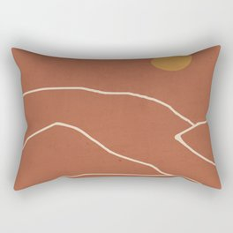 Minimal Abstract Art Landscape 2 Rectangular Pillow