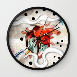 Sagado Corazón Wall Clock
