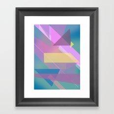 Abstract Pattern Design 1  Framed Art Print