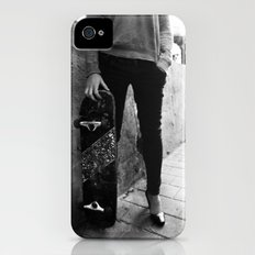 SkateBoard Girl iPhone (4, 4s) Slim Case