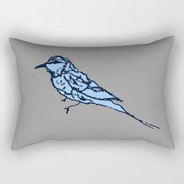 Animal Series - Blue Bird Rectangular Pillow