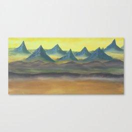 Southern Border Canvas Print