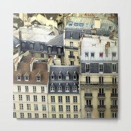 Paris Rooftop #2 Metal Print