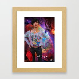 Galaxy Life Framed Art Print