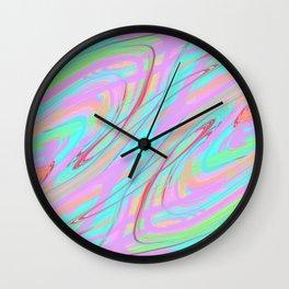 Clutter Wall Clock