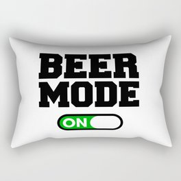Beer Mode Rectangular Pillow