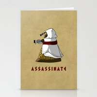 dalek Stationery Cards featuring Assassin's Dalek by mikaelak