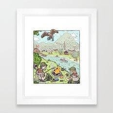 A Boy's Life Framed Art Print