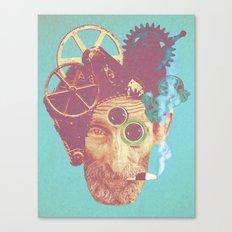 El Mecanico Canvas Print