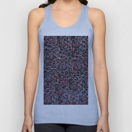 Floral pattern 21 Unisex Tank Top