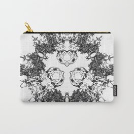 Mitosis (No. 1) | Black & White Carry-All Pouch