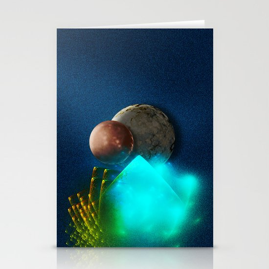New worlds ripe for exploring Stationery Cards