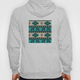 American Native Pattern No. 126 Hoody