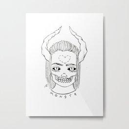 Monstr. Metal Print