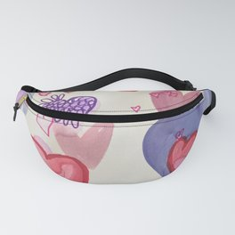 Heart Attack Fanny Pack