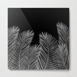 Dark Palm Skies Metal Print