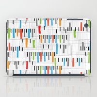 piano iPad Cases featuring piano by mondebettina