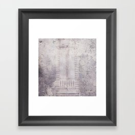 Pillar Framed Art Print