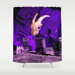 Satan's Apocalypse Shower Curtain