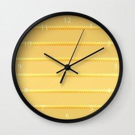 Tagged Gold no11 Wall Clock