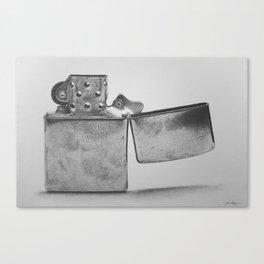 Zippo Canvas Print