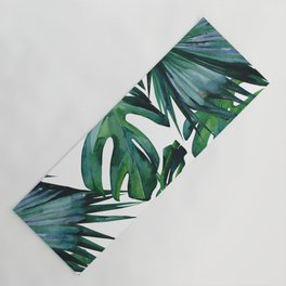 Tropical Palm Leaves Classic Yoga Mat