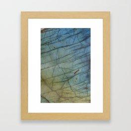 Labradorite Framed Art Print